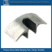 Várias peças de estampagem de metal de aço
