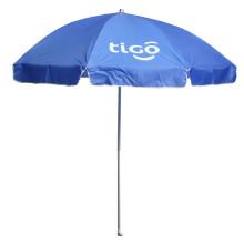 Parapluie solaire publicitaire ouvert manuel (JS-042)