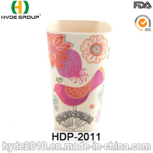 2016 copo de fibra de bambu de design inovador por atacado (HDP-2011)