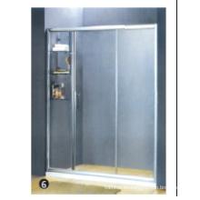Tapón de goma de vidrio templado para puerta de ducha de vidrio