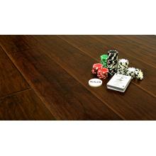 Household 12.3mm E1 Embossed Hand Scraped U-Grooved Laminate Floor