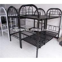 Bom preço estudante dormitório de metal beliches duplos para mobiliário escolar