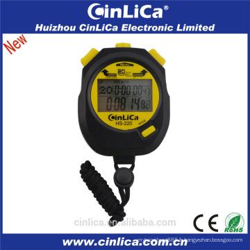 Chronomètre HS-220 mini chronomètre multifonctionnel avancé