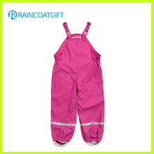 Children PU Rainwear Jumpsuit Rum-017
