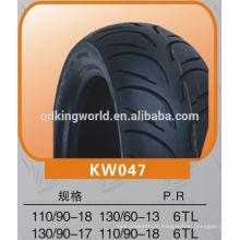 pneus de scooter padrão popular 130 / 60-13