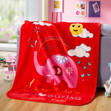 Sườn nhung Velvet Crib Cartoon Cartoon Patterned
