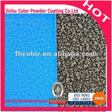 High quality polyester hammer Texture Powder Coating