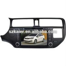 Шок цена автомобиля мультимедийная система для Kia K3/Рио с GPS/Bluetooth/Рейдио/swc/фактически 6 КД/3G интернет/квадроциклов/ставку/видеорегистратор