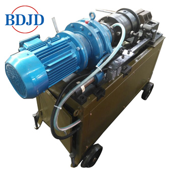 Metal Building Bar Striping dan Straight Thread Rolling Machine