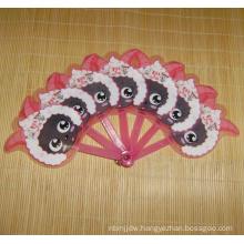 Cheap OEM Plastic Hand Fan