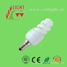 T2 Mini spirale pleine 9W CFL, lampe économiseuse d'énergie