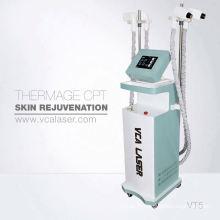 Système de soins de la peau à microneedle fractionné RF Embouts invasifs et non invasifs