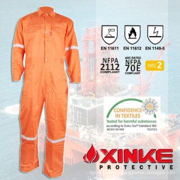 Permanent Fireproof clothing made of Aramid fabric