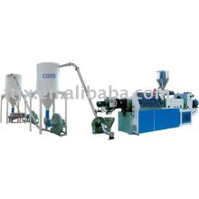 Производство футянь пластик ПВХ гранулирования линия