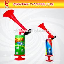 Hong Kong beste verkaufende preiswerte Parteidekorationen online Kunststoff Mini Fan Horn Horn für Fußballspiele