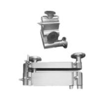 Échangeur de chaleur à plaques et ailettes en aluminium pour dessiccateur d'air