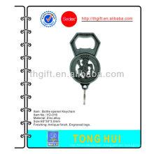 Metal Antique bottle opener Keychain