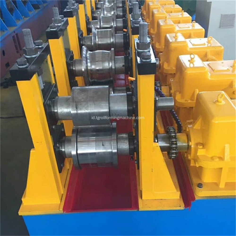 Lift Opend Guide Rail Roll Forming Machine