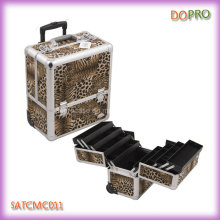 Trolley Manicure Travel Case with Large Bottom Sotrage Space (SATCMC011)