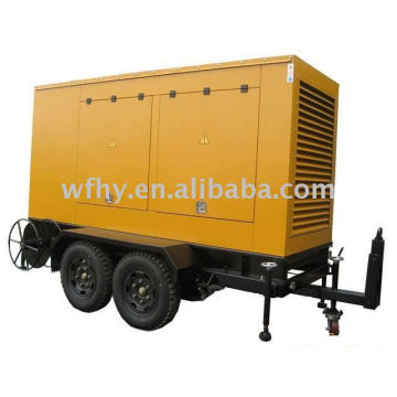 120KW Anhänger Diesel Generator angetrieben von Cummins Motor