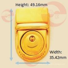 Cerradura de botón circular de metal de aleación de zinc de buena calidad