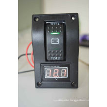 Digital Battery Voltmeter Test Panel Rocker Switch Dpdt on-off-on -Marine Boat
