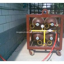 50L Seamless Steel Cylinder Rack, CNG Gas Cylinder Rack