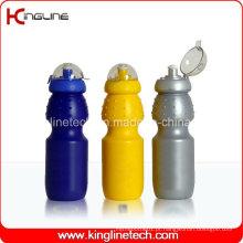 Garrafa de água desportiva plástica, garrafa de esportes plástica, garrafa de água desportiva de 630 ml (KL-6617)