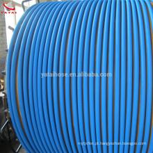 Mangueiras hidráulicas de alta pressão do alicate de friso azuis