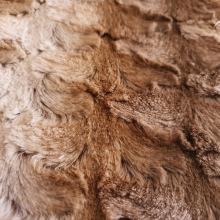 Künstliche Kaninchen-Fleece-Stoff der Babydecke