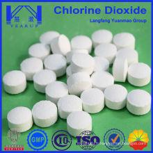Comprimés de dioxyde de chlore de nouvelle génération pour les produits chimiques pour piscines fabriqués en Chine