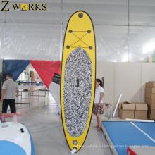 Совет спорта воды Раздувной sup серфинга стоит вверх доски затвора