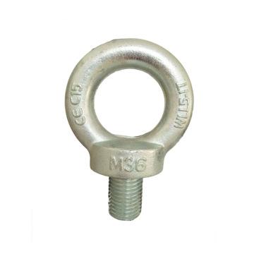 M14 Galvanized Steel Forged Anchor Eye Bolts Screw