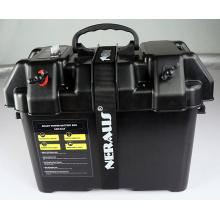 Elektrische Trolling Motor Smart Battery Box Power Center schwarz