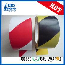 Material de PVC LG N cinta de advertencia