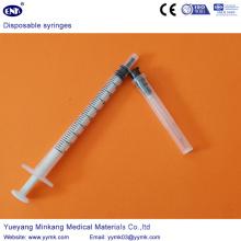 Jeringa estéril desechable con aguja de 1 ml (ENK-DS-062)