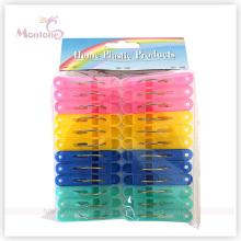 24PCS Plastic Clothes Pegs (4colors assorted)