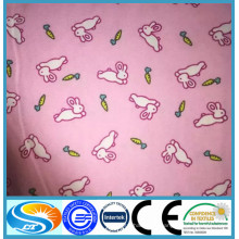 2015 Горячий стиль! 100% хлопок / tc фланель оптом розовый напечатанные хлопчатобумажные фланелевые ткани для детей детей ткани / пижамы / простыни