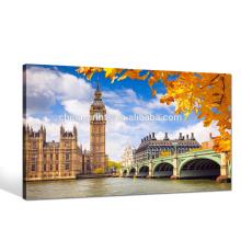 Big Ben Photo Print/Great Britain Scenery Canvas Art/London Cityscape Wall Art