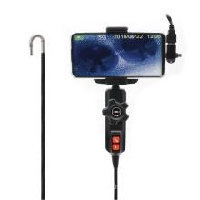 6.0mm diameter USB mobile HD borescope camera with articulation camera head