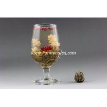 Chá da flor de flor padrão Handmade EU
