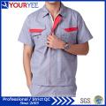 Short Sleeve Antistatic Workwear Clothing Uniform for Worker (YMU120)