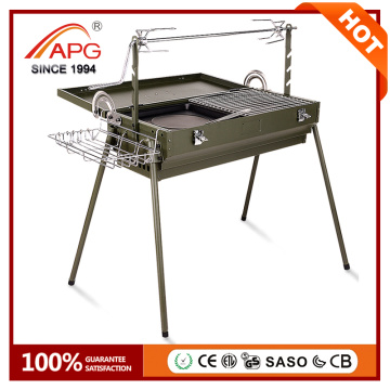 2017 New APG Smokeless Charcoal BBQ Grill