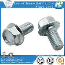 Grade 5 Hexagon Flange Bolt, Steel, Magni