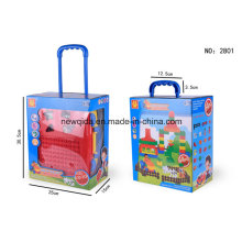 Construction 64PCS 69PCS Luggage Building Blocks Baby Toy
