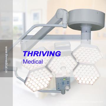 Lampe de fonctionnement sans lumière Shadowless à 5 lumières (réglage de la température de couleur)