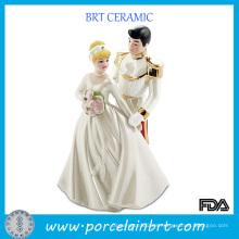 Príncipe y princesa de la boda de la porcelana