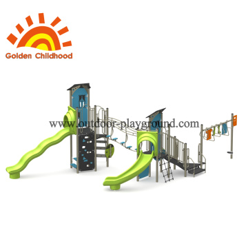 Play House Equipment Playground ao ar livre