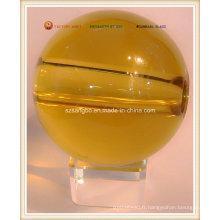 Grand verre Crystal Ball avec trou (S0113)