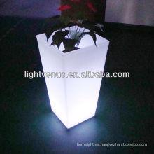 maceta LED a prueba de agua moderna